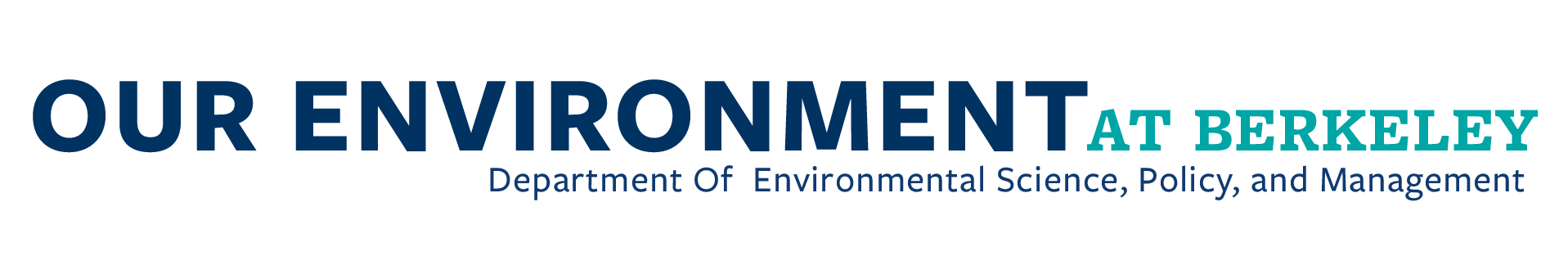 Department of Environmental Science, Policy, and Management