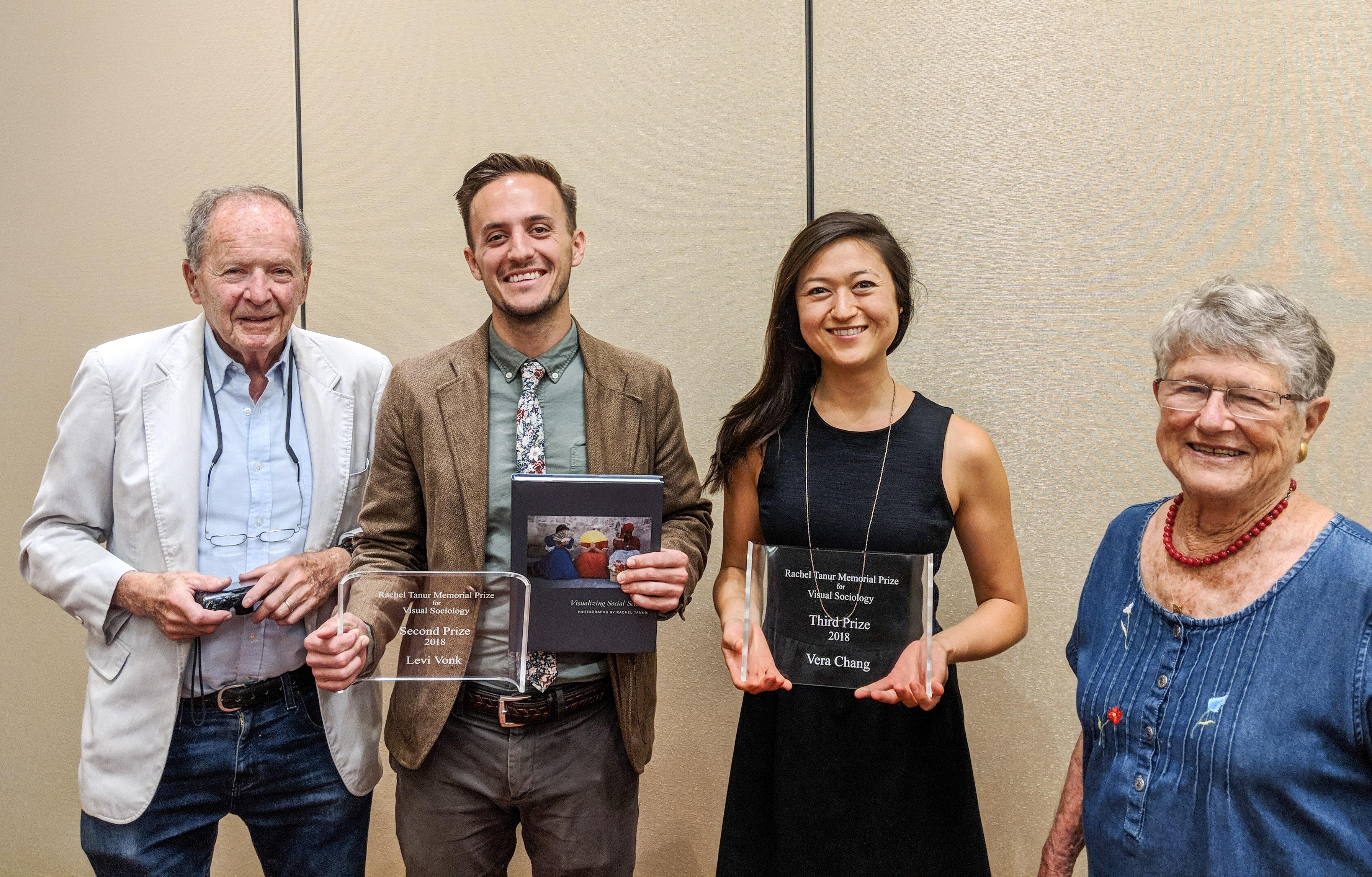 Rachel Tanur award winners