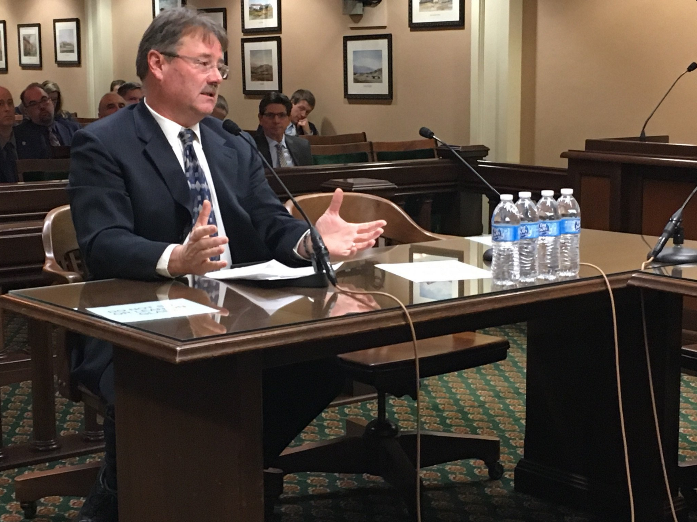 Scott Stephens Speaks at California Forest Management Hearing
