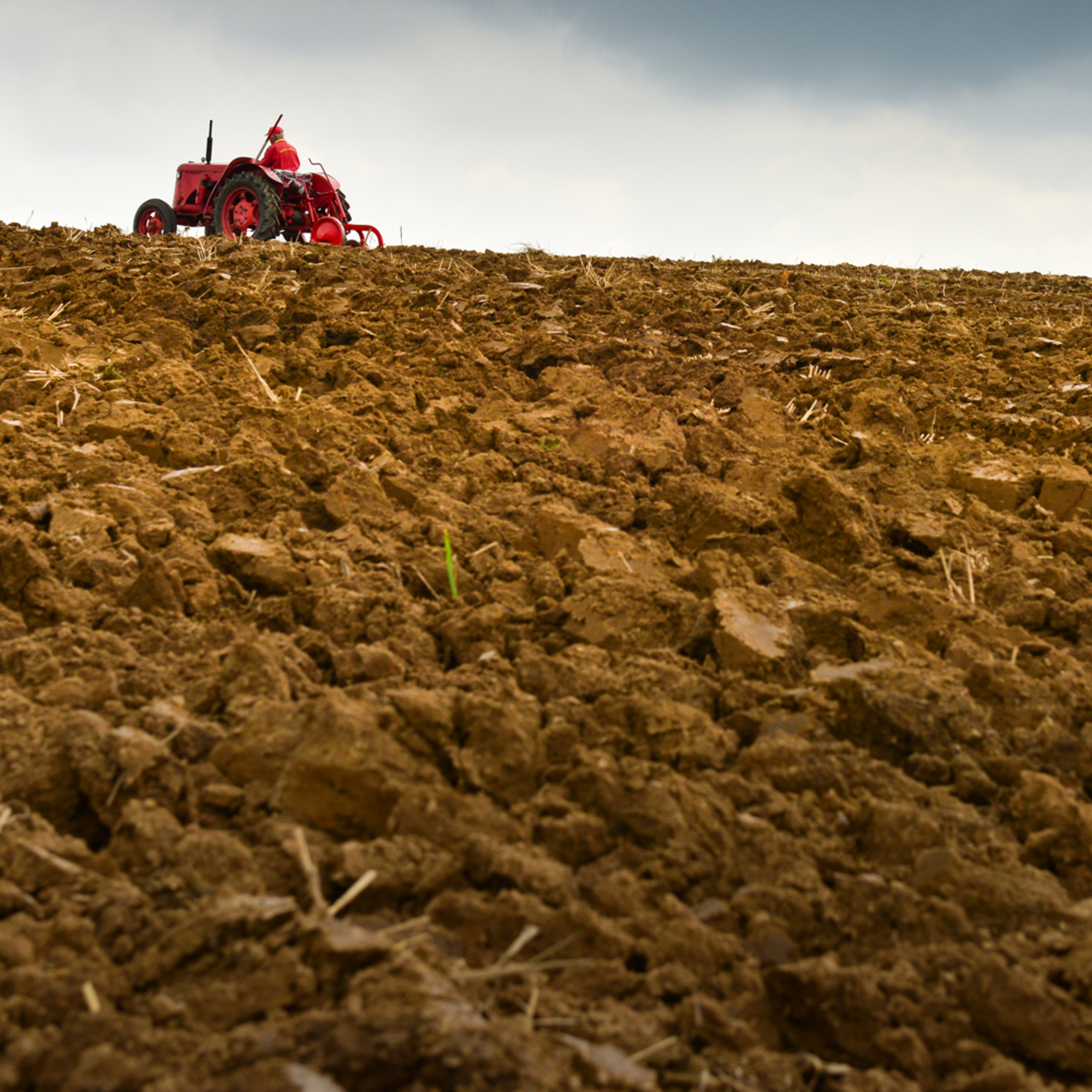 Tractor and soils