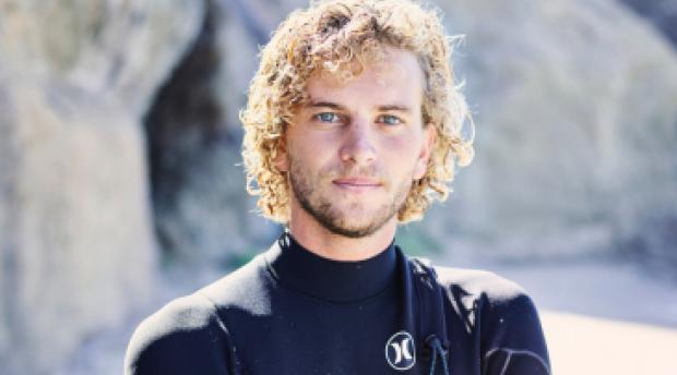 Blair Conkin, professional skimboarder