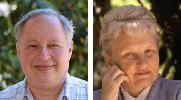 Headshots of Wayne M. Getz and Carolyn Merchant