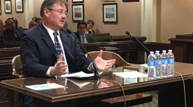 Scott Stephens Speaks at California Forest Management Hearing