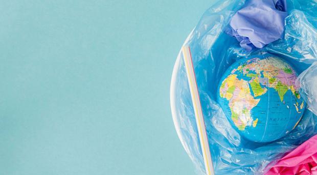 Photo of a globe.
