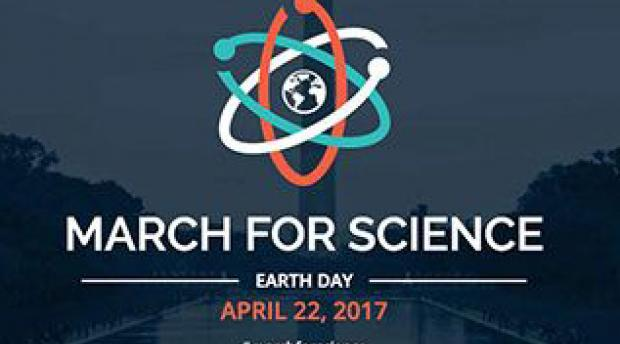 Logo for the April 22 march for science