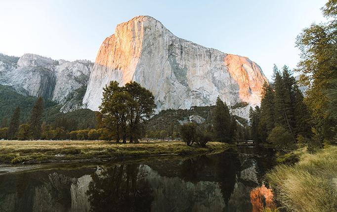 Landscape of Yosemite National Park