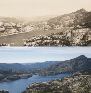 French Lake and English Mt. in the 1930s and today