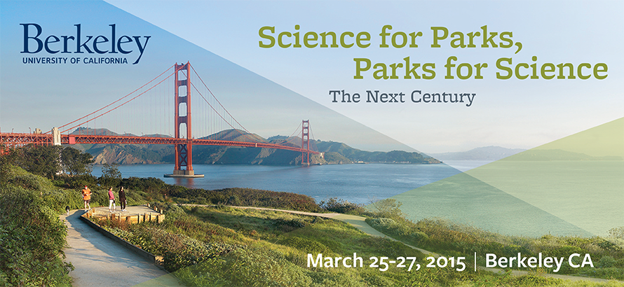 Banner for the Science for Parks, Parks for Science Conference