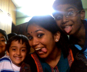 Radhika and her cousins