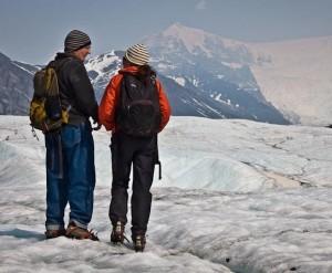 jim and I glacier