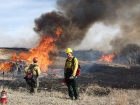 Prescribed Burning at the Niobrara Preserve in Nebraska