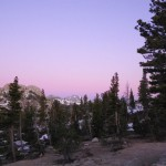 alpenglow Yosemite